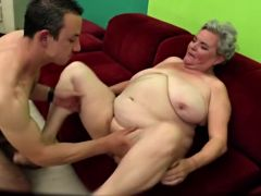 Bbw mature finishes him off