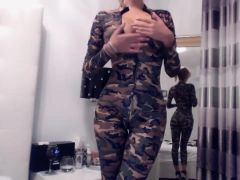 Awesome Military Babe