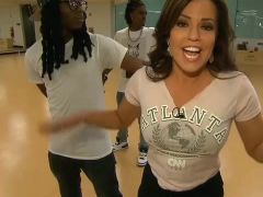robin meade works out