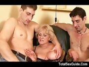 Hot GILF Nailed By A Big Cock Guy