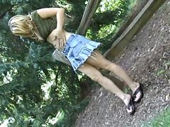 Outdoor masturbation