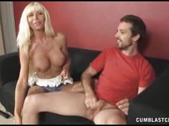 Busty kasey storm loves playing with hard cocks