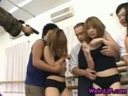 Huge jap Gang bang 5 by weirdjp