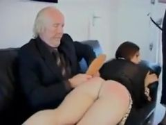 Spanked not Her Gdad