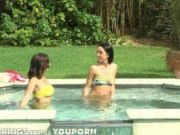 Reality Kings - Poolside lesbian action