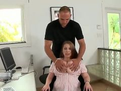 There are not many girls like Desiree, that is for sure, and especially considering the size of her melons. They are huge and ready for some titjob ac