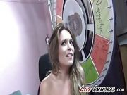 First Time Teen Pops Her Sybian Cherry