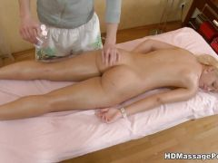 Relaxing massage and a hard pounding