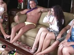 Spicy roulette night sex party with tanner & alexis capri