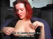 Red Haired Milf With Herself