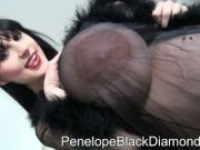 PenelopeBlackDiamond Blowjob+Footjob+Glasses