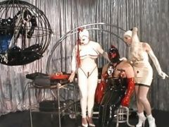Couple Of Hot Starlets Receive A From Pornstars Down In The Dungeon