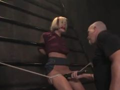 Jasmine Jolie likes Being tied Up And Mouth-Fucked in sadism activity