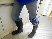 nlboots - my rubber boots plus his rubber boots (part 1)