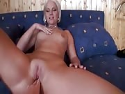 Beautiful MILF has a nice warm hairless cunt for fucking