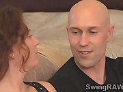 Sw couple spend first night in reality
