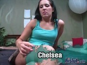 Chelsie is super wet