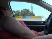Public Orgasm in my Car at the Gas Station