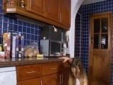 Cute cooking with ivana in the kitchen