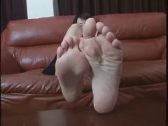Beautiful Japanese women with sexy soles!