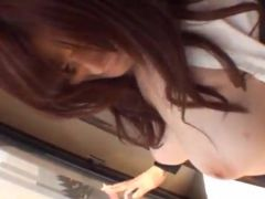 Erotic Chinese Ramu Hoshino Blowjobs And Titjobs in Formal Outfit