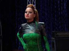 Debby Ryan in a Catsuit