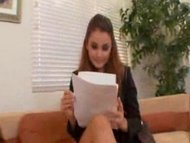 Allie Haze Office Hoe