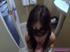 Dad gets duddy\'s daughter pregnant Swalloween Fun