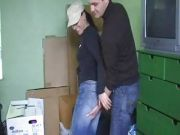 Clothed Couple Has Fun