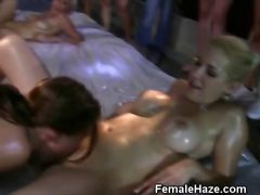 College Girls Eating Pussy At A Sorority Hazing Party