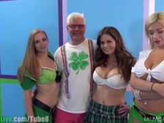 St.Patrick\'s pornstar orgy party! Vol.5