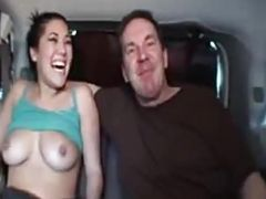 A ride in London with a sexy pornstar