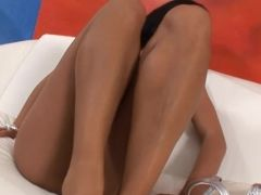 Free hardcore porn on tube of brides in stockings