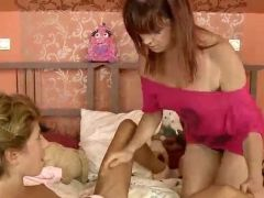 Youthful sweetie loves aged old donna