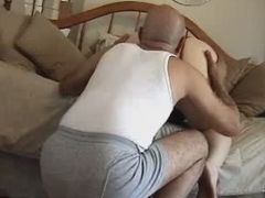 Naughty Housewife Gets Spanked Then Fucked