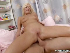 Blonde Teen Anal Close Up