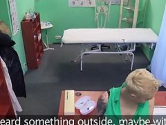 Tattooed Chick Loudly Moans in Slam activity in Medical