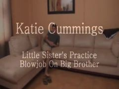 Not sister practice blow jobs on big brother