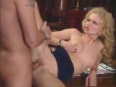Crazy pornstar Dora Venter in amazing lingerie, blonde sex scene