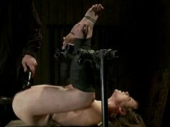 Seda is ass-fucked, wgreetingspped and caned in hard bondage.