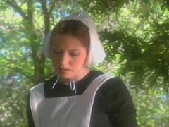 Adorable Amish Girl Is Spanked Till She Squirts