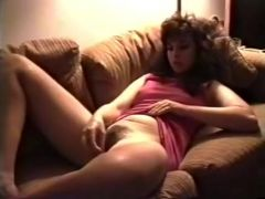 Rubbing my pussy with toy sex video