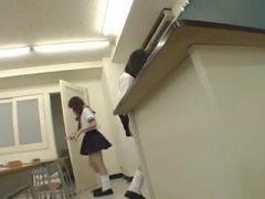 Most Good Japanese School Angel Facesitting Ever