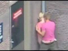 Real street sex in Amsterdam