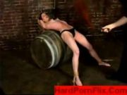 Bondage On A Barrel