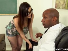 Noelle Easton & Prince Yahshua in Naughty Book Worms