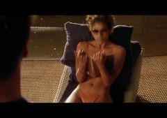 Halle Berry naked in Swordfish