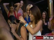18 Sex in the club at cfnm party 19
