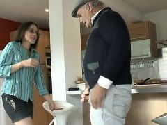 Old Man With Young Girl - Part2 On WebcamorgyNET