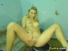 Swedish blond babe horny as hell